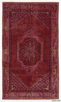 Picture of Over-dyed Anatolian Vintage Rug