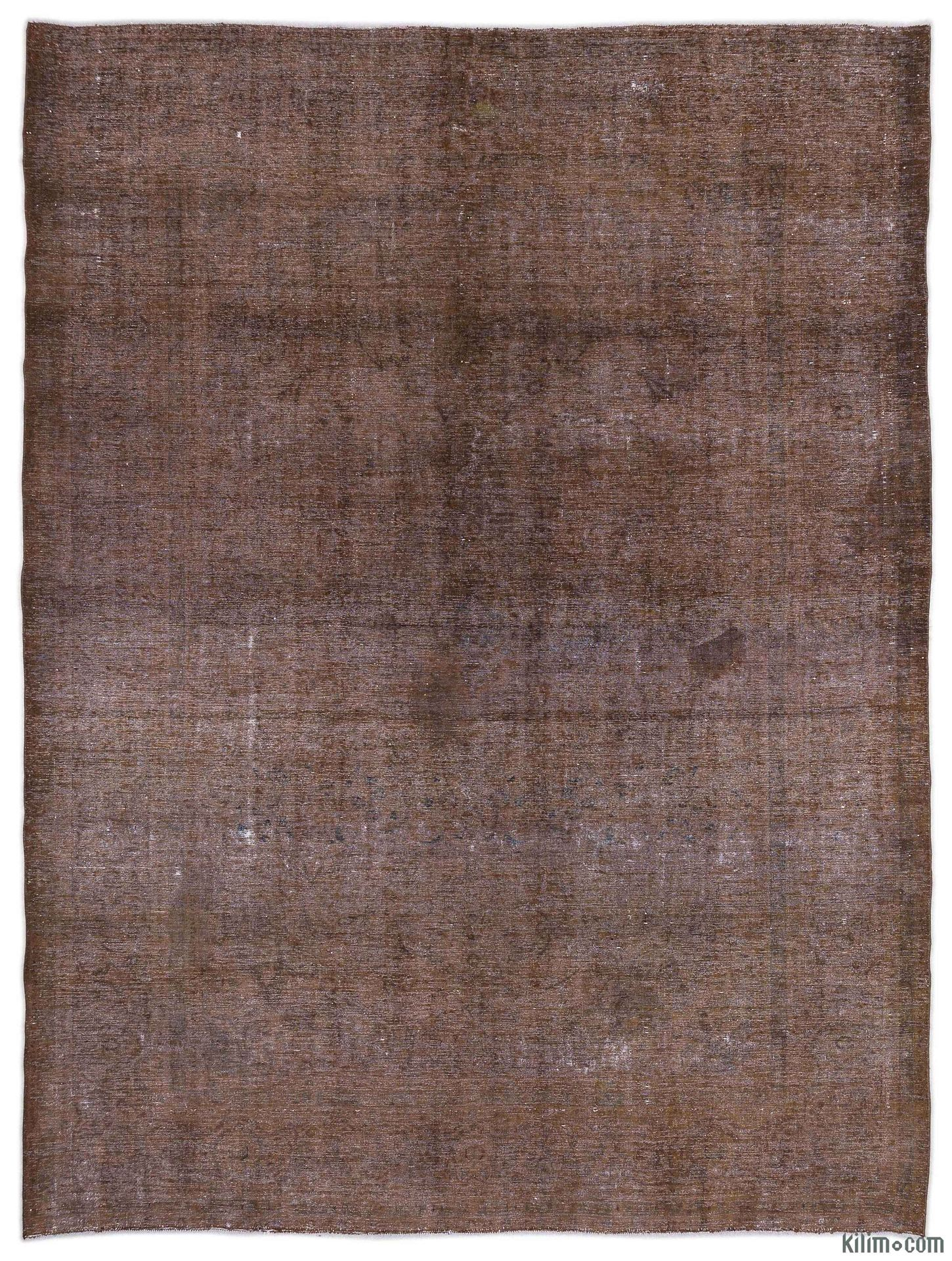 Over-dyed Persian Vintage Rug