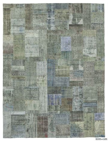 Picture of Over-dyed Turkish Patchwork Rug