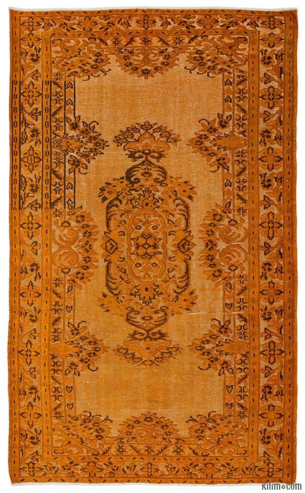 Picture of Hand Carved Over-Dyed Rug