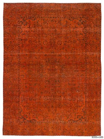Picture of Over-dyed Persian Vintage Rug